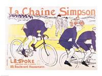 The Simpson Chain, 1896 Fine-Art Print