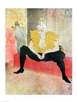 La Clowness Looks Around, Madamoiselle Cha-U-Kao Fine-Art Print