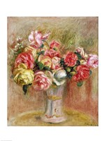 Roses in a Sevres vase Fine-Art Print