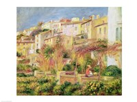 Terrace in Cagnes, 1905 Fine-Art Print