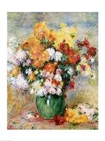 Bouquet of Chrysanthemums, c.1884 Fine-Art Print