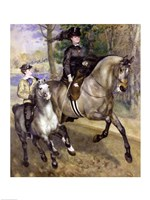 Horsewoman in the Bois de Boulogne, 1873 Fine-Art Print