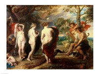 The Judgement of Paris - dark colors Fine-Art Print