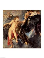 The Kidnapping of Ganymede Fine-Art Print