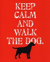Keep Calm (Labrador) Fine-Art Print