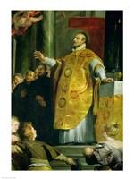 The Vision of St. Ignatius of Loyola Fine-Art Print