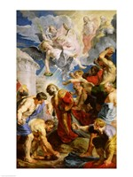 The Stoning of St. Stephen Fine-Art Print