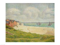Le Crotoy looking Upstream, 1889 Fine-Art Print