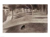 Study for Sunday Afternoon on the Island of La Grande Jatte Fine-Art Print