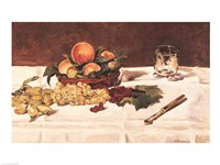 Still Life: Fruit on a Table, 1864 Fine-Art Print