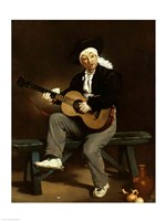 The Spanish Singer, 1860 Fine-Art Print