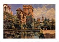 Jardines del Alcazar de Sevilla Fine-Art Print
