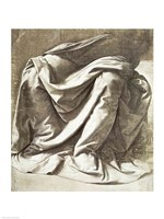 Drapery study for a Seated Figure Fine-Art Print