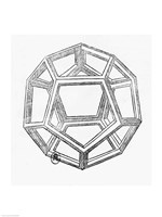 Dodecahedron Fine-Art Print