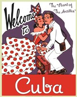 Welcome to Cuba Fine-Art Print