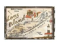 Greetings from Long Island Fine-Art Print