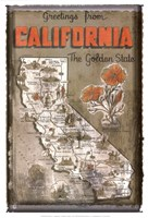 Greetings from California Fine-Art Print