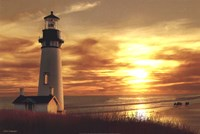 Lighthouse at Sunset Fine-Art Print