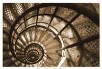 Spiral Staircase in Arc de Triomphe Fine-Art Print