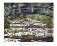 The Japanese Footbridge, 1899 Fine-Art Print