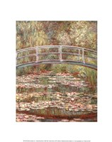 Water Lily Pond, 1899 Fine-Art Print