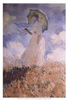 Woman with Parasol Fine-Art Print