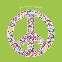 Peace is Beautiful Fine-Art Print