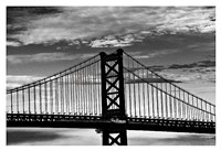 Benjamin Franklin Bridge (b/w) Fine-Art Print