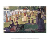 Sunday Afternoon on the Island of Grand Jatte 1864-6 Fine-Art Print