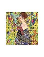 Lady with Fan Fine-Art Print