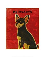 Chihuahua (black and tan) Fine-Art Print