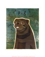 Pug (black) Fine-Art Print