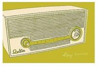 Lunastrella Radio Fine-Art Print