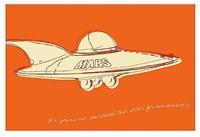 Lunastrella Flying Saucer Fine-Art Print
