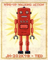 Ted Box Art Robot Fine-Art Print