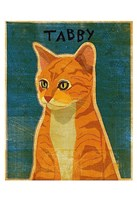 Tabby (orange) Fine-Art Print