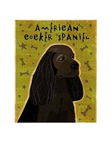 American Cocker Spaniel (black) Fine-Art Print