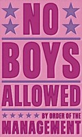 No Boys Allowed Fine-Art Print