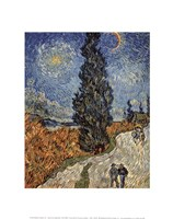 Country Road in Provence by Night, c. 1890 Fine-Art Print