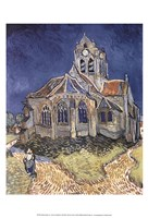 The Church at Auvers Fine-Art Print
