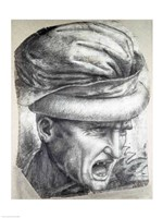 Head of a Warrior Fine-Art Print