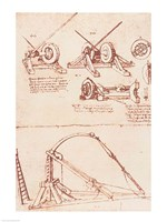 Designs for a Catapult Fine-Art Print
