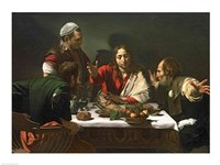The Supper at Emmaus, 1601 Fine-Art Print