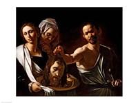 Salome Receives the Head of Saint John the Baptist, 1607-10 Fine-Art Print