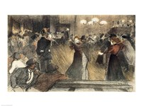 Ball at the Barriere Fine-Art Print
