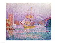 Harbour at Marseilles, c.1906 Fine-Art Print