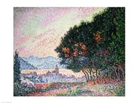 Forest near St. Tropez, 1902 Fine-Art Print