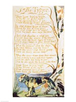 The Tyger, from Songs of Innocence Fine-Art Print
