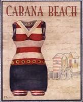 Cabana Beach - mini Fine-Art Print