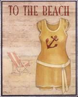 To The Beach - mini Fine-Art Print